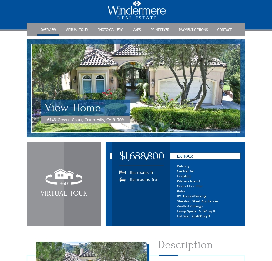 Windermere Real Estate - Example