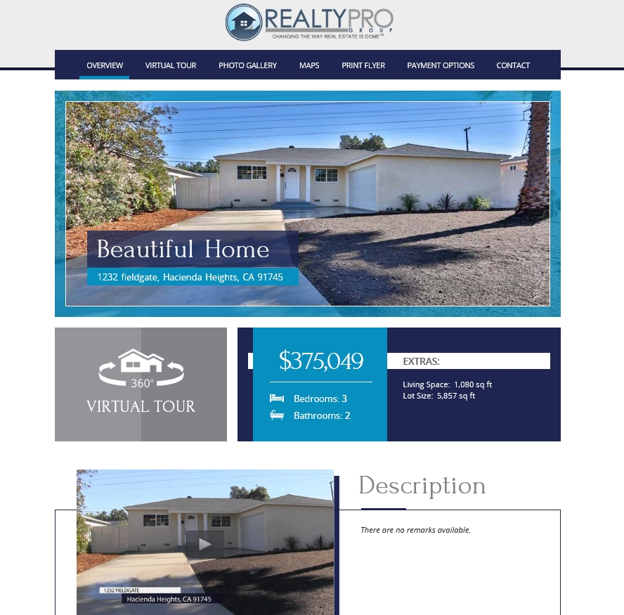 Realty Pro Group - Example