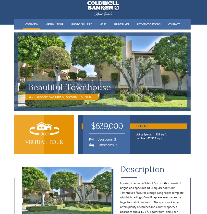 Coldwell Banker - Example